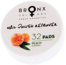 Духи, Парфюмерия, косметика Салфетки для снятия лака - Bronx Colors Nail Polish Remover Pads Peach