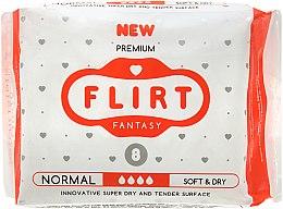 """Духи, Парфюмерия, косметика Прокладки для критических дней """"Premium"""", Soft & Dry, 4 Капли, 8шт - Fantasy Flirt"""
