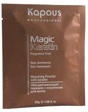 Духи, Парфюмерия, косметика Осветляющий порошок для волос - Kapous Professional Non Ammonia Bleaching Powder With Keratin