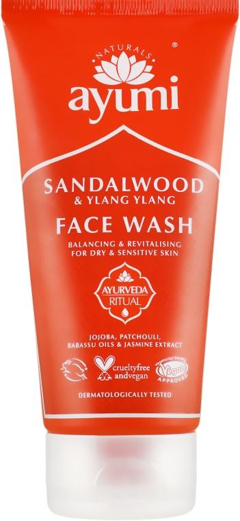 Гель для умывания - Ayumi Sandalwood & Ylang Ylang Face Wash
