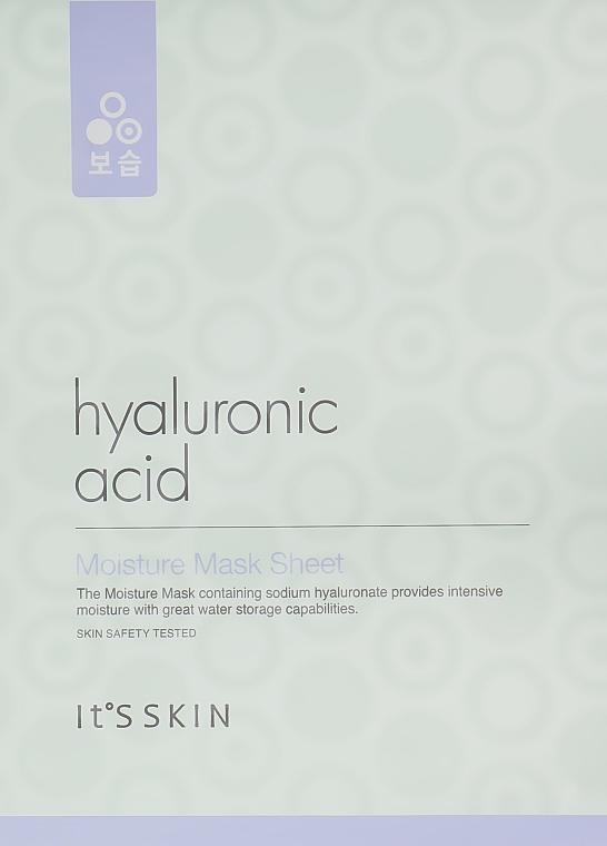 Увлажняющая тканевая маска с гиалуроновой кислотой - It's Skin Hyaluronic Acid Moisture Mask Sheet