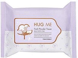 Духи, Парфюмерия, косметика Очищающие салфетки для лица - Tony Moly Hug Me Fresh Powder Tissue