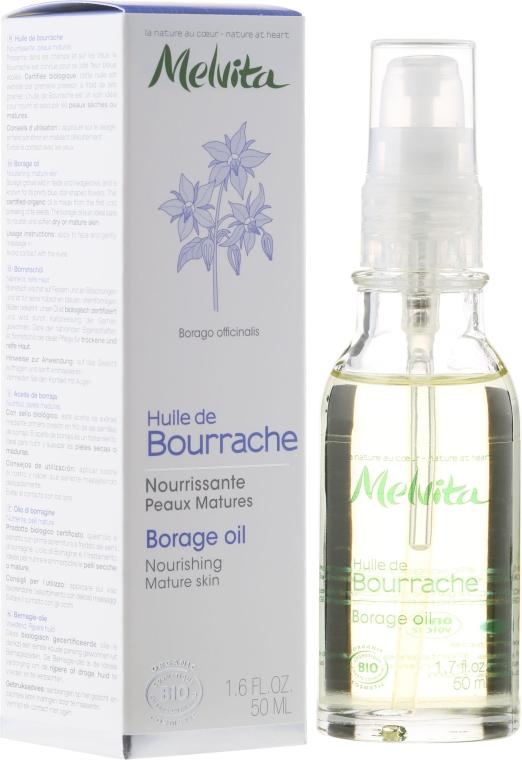 """Масло для лица """"Огуречник аптечный"""" - Melvita Huiles De Beaute Borage Oil"""