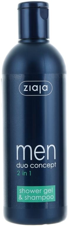 Шампунь-гель для мужчин - Ziaja Men Shower Gel & Shampoo 2in1