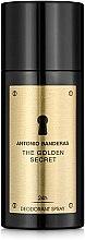 Духи, Парфюмерия, косметика Antonio Banderas The Golden Secret - Дезодорант