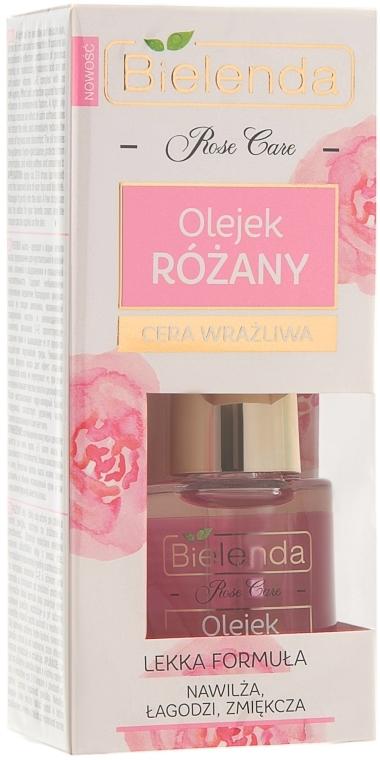 Розовое масло для лица - Bielenda Rose Care Face Oil For Sensitive Skin