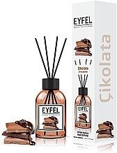 """Парфумерія, косметика Аромадифузор """"Шоколад"""" - Eyfel Perfume Reed Diffuser Chocolate"""