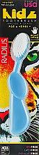 """Духи, Парфюмерия, косметика Зубная щетка для детей с 6 лет """"Kidz"""", синяя - Radius"""