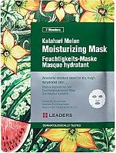 Духи, Парфюмерия, косметика Маска для лица - Leaders 7 Wonders Kalahari Melon Moisturizing Mask