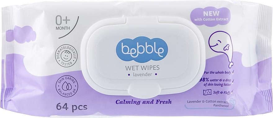 Влажные салфетки, 64шт - Bebble Wet Wipes
