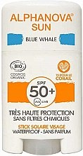 Духи, Парфюмерия, косметика Солнцезащитный стик - Alphanova Sun Blue Whale SPF50+