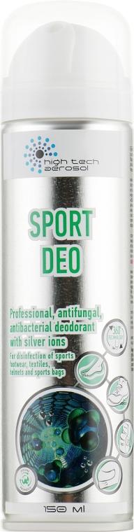 Дезодорант для нейтрализации запахов и дезинфекции - High Tech Aerosol Sport Deo