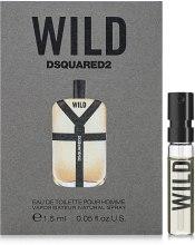 Духи, Парфюмерия, косметика DSQUARED2 Wild - Туалетная вода (пробник)