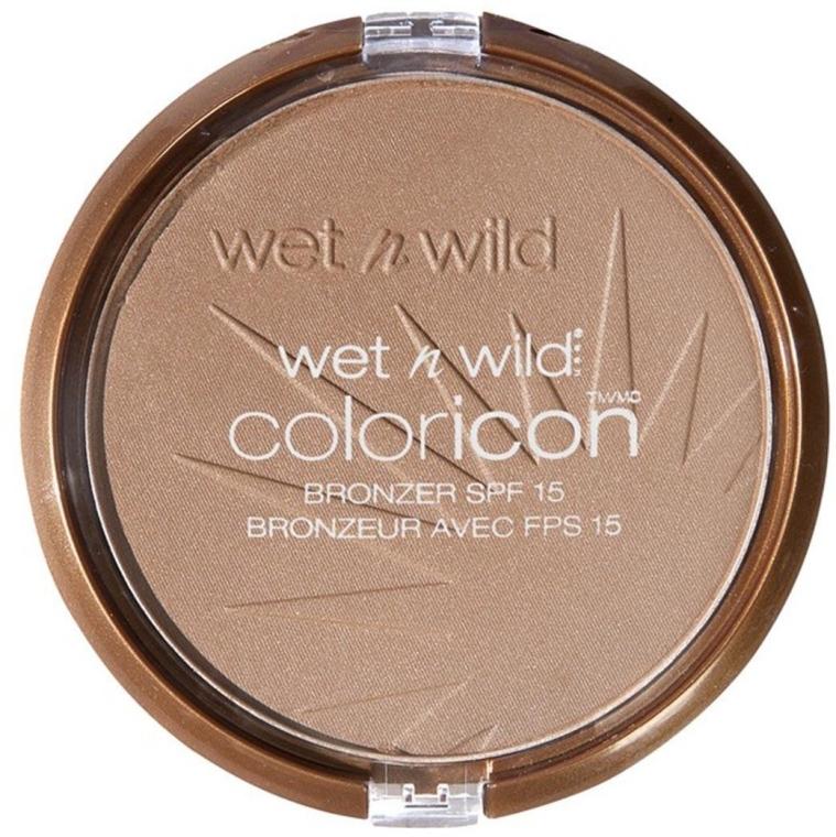 Компактная бронзирующая пудра для лица - Wet N Wild Color Icon Bronzer SPF15