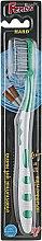 Духи, Парфюмерия, косметика Зубная щетка жесткая, 5812 зеленая - Fenix
