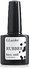 Духи, Парфюмерия, косметика Основа для гель-лака каучуковая - G. Lacolor Rubber Base Coat