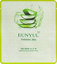 Духи, Парфюмерия, косметика Маска для лица с экстрактом алоэ - Eunyul Moisture Aloe Mask Pack