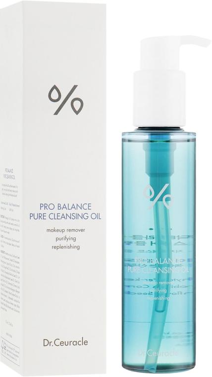 Очищающее гидрофильное масло с пробиотиками - Dr.Ceuracle Pro Balance Pure Cleansing Oil