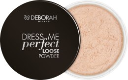 Духи, Парфюмерия, косметика Рассыпчатая пудра для лица - Deborah Dress Me Perfect Loose Powder