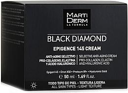 Духи, Парфюмерия, косметика Дневной крем для лица - MartiDerm Black Diamond Epigence 145 Cream