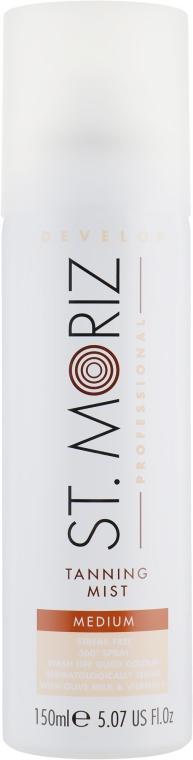 Автозагар-спрей для тела - St.Moriz Professional Self Tanning Mist Medium