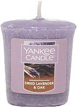 """Парфумерія, косметика Ароматична свічка-вотив """"Лаванда і кедр"""" - Yankee Candle Dried Lavender & Oak"""