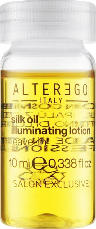 Восстанавливающий лосьон с шелковой маслом - Alter Ego Silk Oil Illuminating Treatment