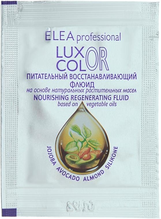 Питательный восстанавливающий флюид - Elea Professional Luxor Color (пробник)