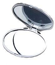 Зеркало двухстороннее ракушка, серебро - Ruby Rose Delux Two-Way Mirror