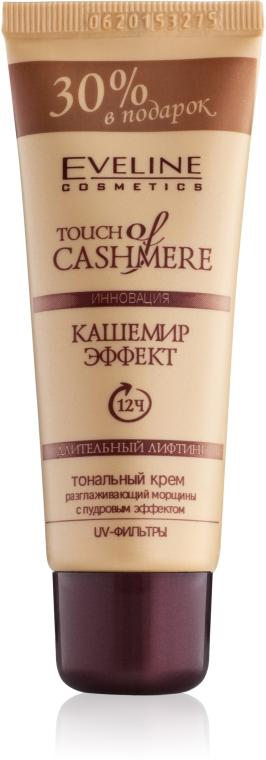 """Тональный крем """"Кашемир-эффект"""" - Eveline Cosmetics Touch Of Cashmere"""