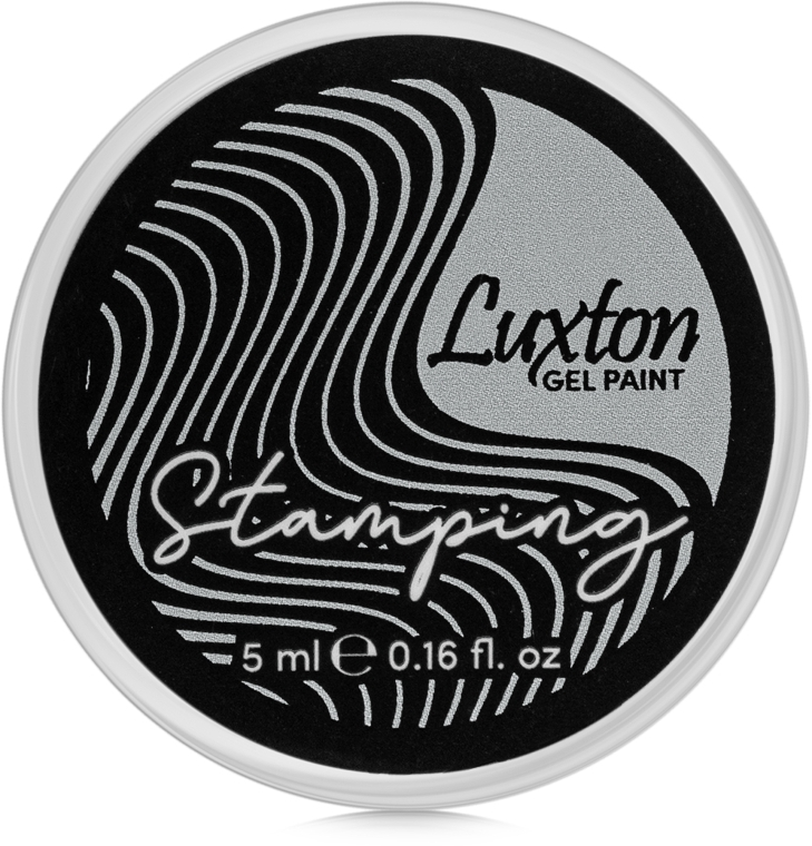 Гель-краска для стемпинга - Luxton Stamping Gel Paint