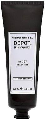 Черный гель камуфляж для седины - Depot № 307 Black Gel