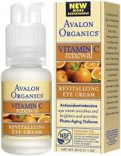 Духи, Парфюмерия, косметика Крем для кожи вокруг глаз с витамином С - Avalon Organics Vitamin C Renewal Revitalizing Eye Cream