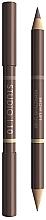 Духи, Парфюмерия, косметика Лифтинговый двусторонний карандаш для бровей - Studio 10 Brow Lift Perfecting Liner