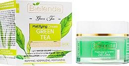 Духи, Парфюмерия, косметика Матирующий крем для лица - Bielenda Green Tea Day Mattifying Face Cream Combination Skin