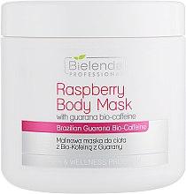 Духи, Парфюмерия, косметика Маска для тела - Bielenda Professional Raspberry With Guarana Bio-Caffeine Body Mask