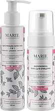 Духи, Парфюмерия, косметика Набор для сухой и нормальной кожи - Marie Fresh Cosmetics Moisturizing duo (hydr/oil/150ml + foam/160ml)