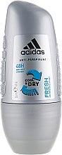 Духи, Парфюмерия, косметика Роликовый дезодорант - Adidas Anti-Perspirant Fresh Cool Dry 48h