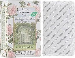 "Духи, Парфюмерия, косметика Душистое мыло ""Роза"" - L'Erbolario Sapone Al Profumo di Rosa"