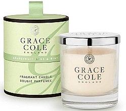 Духи, Парфюмерия, косметика Ароматизированная свеча - Grace Cole Grapefruit Lime & Mint