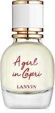 Духи, Парфюмерия, косметика Lanvin A Girl in Capri - Туалетная вода (тестер с крышечкой)