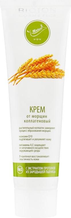 Крем от морщин коллагеновый с экстрактом протеинов из зародышей пшеницы - Bioton Cosmetics Nature Face Cream