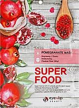 """Духи, Парфюмерия, косметика Тканевая маска для лица """"Гранат"""" - Eyenlip Super Food Pomergranate Mask"""