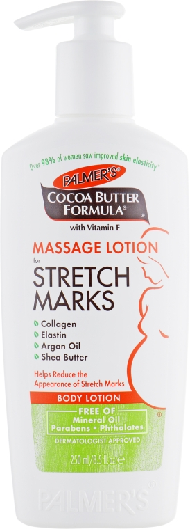 Массажный лосьон от растяжек - Palmer's Cocoa Butter Formula Massage Lotion for Stretch Marks