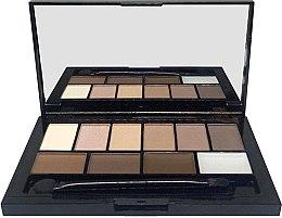 Духи, Парфюмерия, косметика Набор для макияжа - Lamel Professional Face Make Up Eyeshadow & Brow Kit