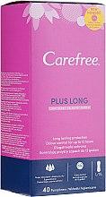 Духи, Парфюмерия, косметика Гигиенические ежедневные прокладки, 40шт - Carefree Plus Long