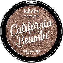 Духи, Парфюмерия, косметика Пудра-бронзер для лица и тела - NYX Professional Makeup Professional California Beamin Face & Body Bronzer