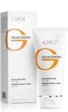 Духи, Парфюмерия, косметика Скраб для лица и тела - Gigi Solar Energy Fase&Body Scrub