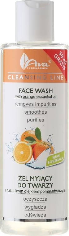 Очищающий гель с апельсиновым маслом - Ava Laboratorium Cleansing Line Face Wash With Orange Essential Oil