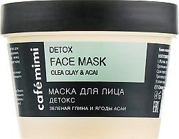 "Духи, Парфюмерия, косметика Маска для лица ""Детокс"" - Cafe Mimi Face Mask"